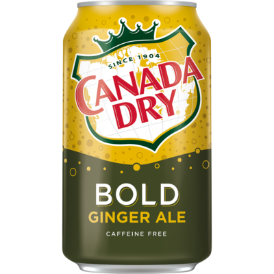 Canada Dry Bold Ginger Ale [USA] 355ml