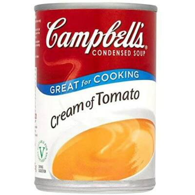 Campbells Condensed Cream Of Tomato Soup 294g