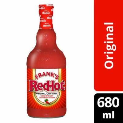 Frank's Red Hot Original Sauce Cayenne Pepper 680ml