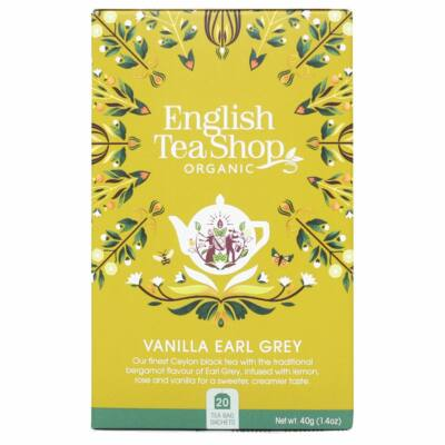 English Tea Shop - Vaníliás Earl Grey Tea 20 db borítékolt filter