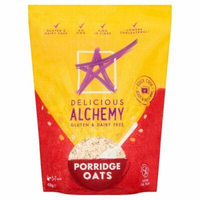 Delicious Alchemy Gluten & Dairy Free Oats 450g