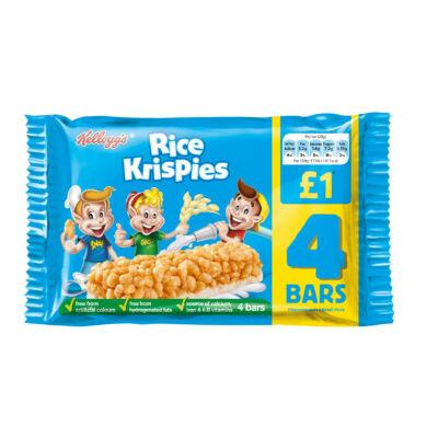 Kellogg's Rice Krispies Cereal Bars 4 Pack