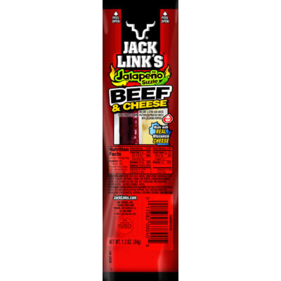 Jack Link's Combo Pack Jalapeno Sizzle Beef and Cheese [USA]  34g