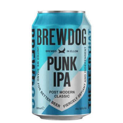 BrewDog Punk IPA (330ml, dobozos 5.6%)