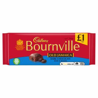 Cadbury Bournville Old Jamaica 100g