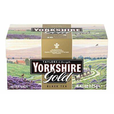 Yorkshire Gold prémium tea - 40 db filter