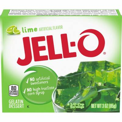 Jell-O Lime Gelatin Dessert [USA] 85g