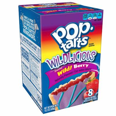 Kellogg's Pop Tarts Frosted Wild Berry 430g