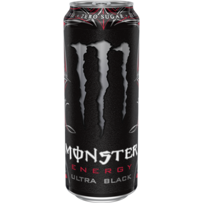 Monster Ultra Black (UK) árcímke nélküli 500ml