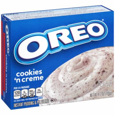 Jell-O Oreo Cookies n Crème Instant Pudding Mix [USA]  119g