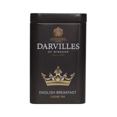 Darvilles Of Windsor English Breakfast szálas fémdobozos tea 100g