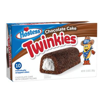 Hostess Chocolate Cake Twinkies [USA] 385g 10 db