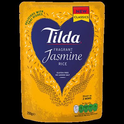 Tilda Jasmine steamed rice 250g