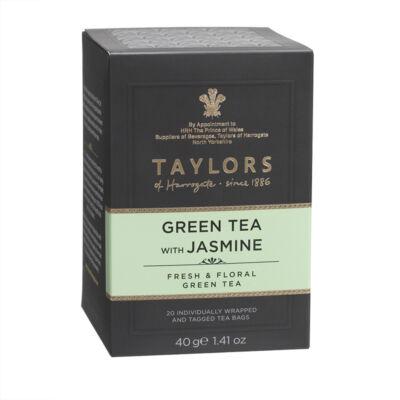 Taylors of Harrogate Green Tea with Jasmine (Zöld tea jázminnal) 20 db borítékolt filter
