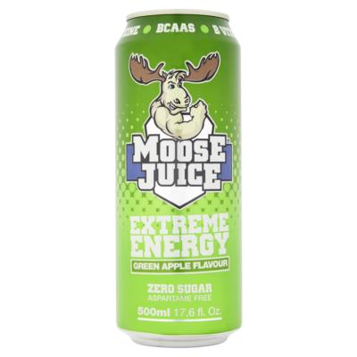 Moose Juice Green Apple - Extreme Energy 500ml