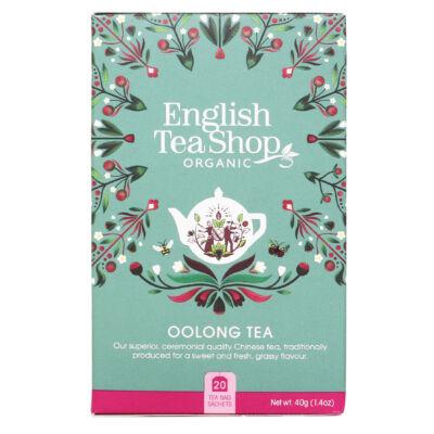 English Tea Shop - Oolong Tea 20 db borítékolt filter