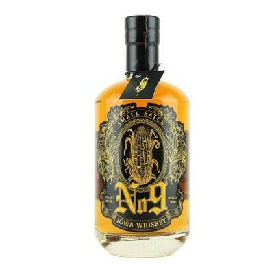 SLIPKNOT No. 9 Iowa Whiskey, 700 ml, 45% ABV (90 proof)