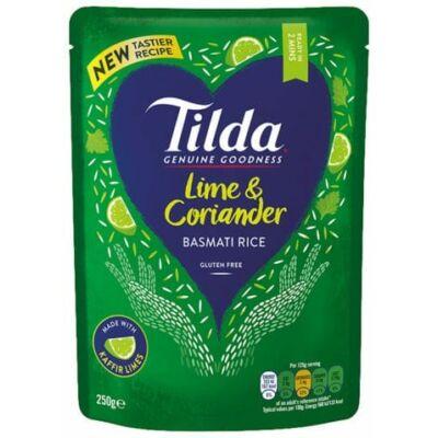 Tilda Steamed Lime & Coriander Basmati Rice 250g