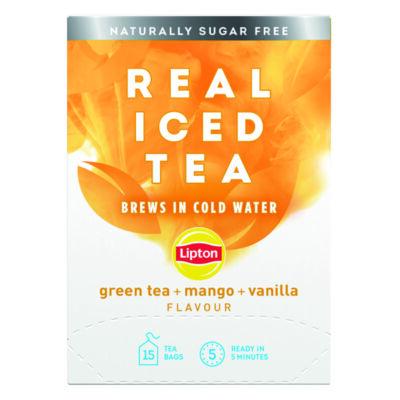 Lipton Cold Brew Green Tea Mango (15 Pack)