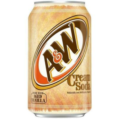 A&W Cream Soda [USA]- 355ml