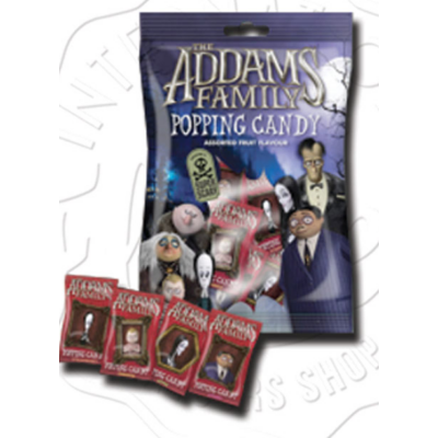 The Addams Family Popping Candy Multipack 33g