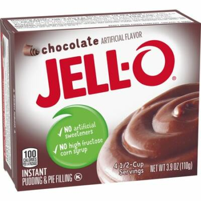 Jell-O Chocolate Fudge Pudding [USA]  110g