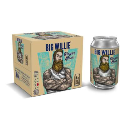 Big Willie gyömbérsör alkoholmentes 4x330ml multipack