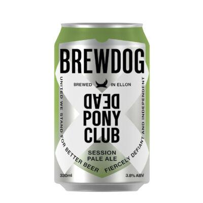 BrewDog Dead Pony Club  (330ml dobozos, 3.8%)