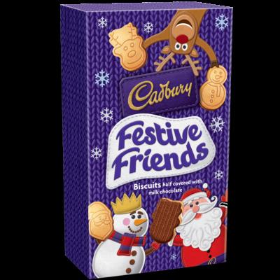 Cadbury Festive Friends - Tejcsokoládés keksz 150g