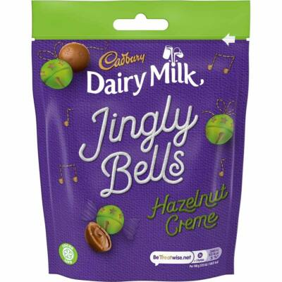Cadbury Jingle Bells Hazlenut Creme 82g