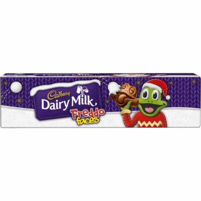 Cadbury Dairy Milk Freddo Faces Christmas Chocolate Tube 72g