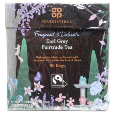 Co Op Irresistible Fair Trade 50 Earl Grey Tea Bags