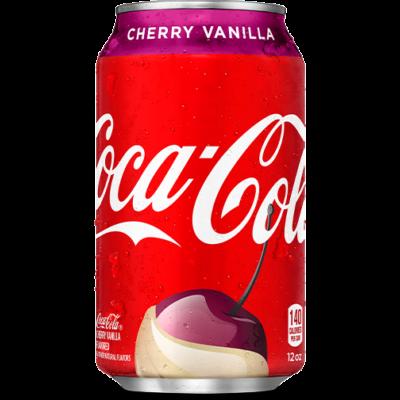 Coca Cola Cherry Vanilla  [USA]  355ml