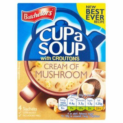 Batchelors Cup A Soup Granules Mushroom - 4 tasak 99g