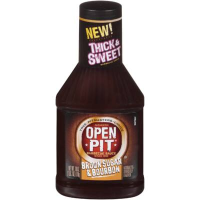 Open Pit Barbecue Sauce Brown Sugar & Bourbon [USA] 510g