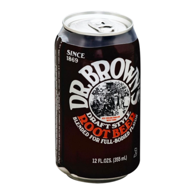 Dr. Browns Draft Style Root Beer [USA] 355ml