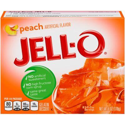 Jell-O Peach Gelatin [USA] 85g