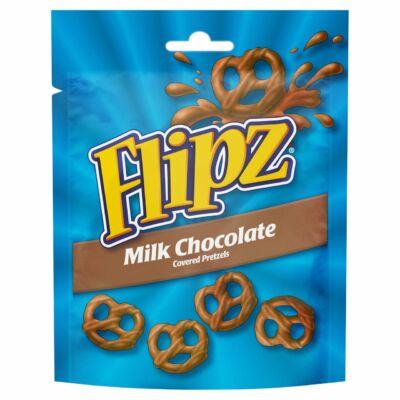 Flipz Milk Chocolate Covered Pretzels Pouch 100g