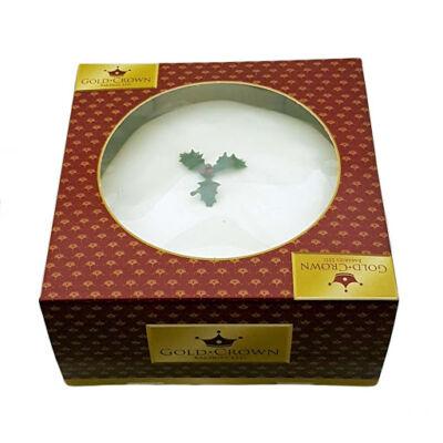 Gold Crown Christmas Cake - Karácsonyi torta 681g