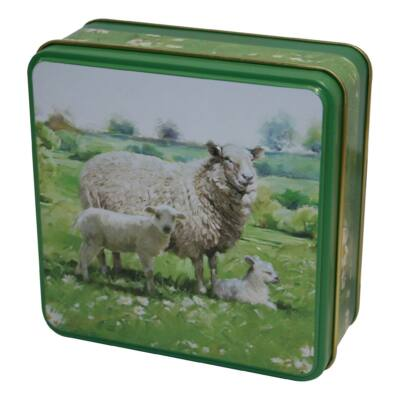 Grandma Wild's - Embossed Sheep in the Country Tin 100g