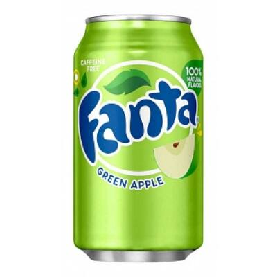 Fanta Green Apple (Zöldalma) [USA] 355ml