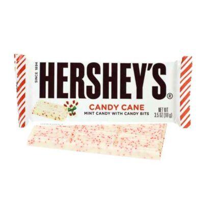 Hershey White Chocolate Candy Cane Bar [USA]  43g
