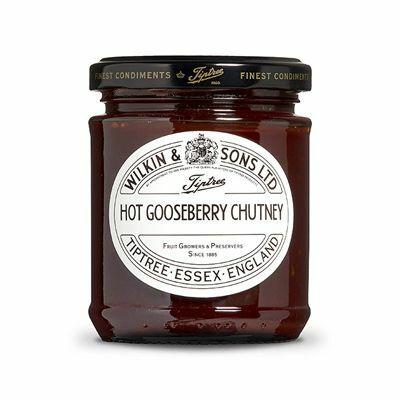 Tiptree Hot Gooseberry (Egres) Chutney 230g
