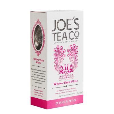 Joe's Tea Co - Whiter Than White (Fehérnél is fehérebb) Bio Tea 15 db piramis filter