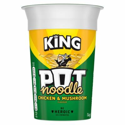 King Pot Noodle Chicken & Mushroom