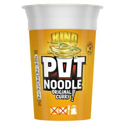 King Pot Noodle Original Curry 110g