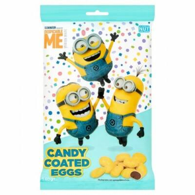 Kinnerton Minions Candy Coated Eggs 140g