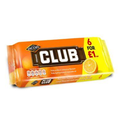 Jacobs Club Orange 6pk