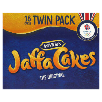 Mcvities Jaffa Cakes Twin Pack 18 cakes