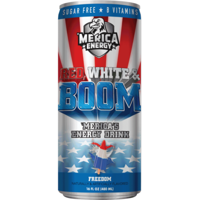 'Merica Energy Drink - Freedom [USA] 480ml